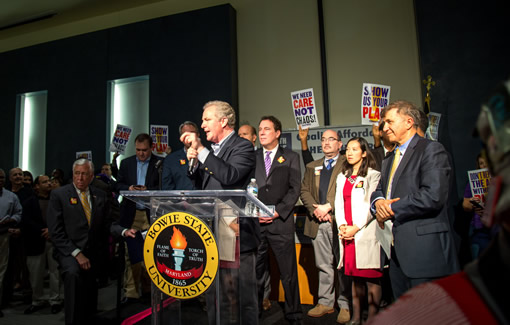 Working to win all Marylanders quality affordable health care