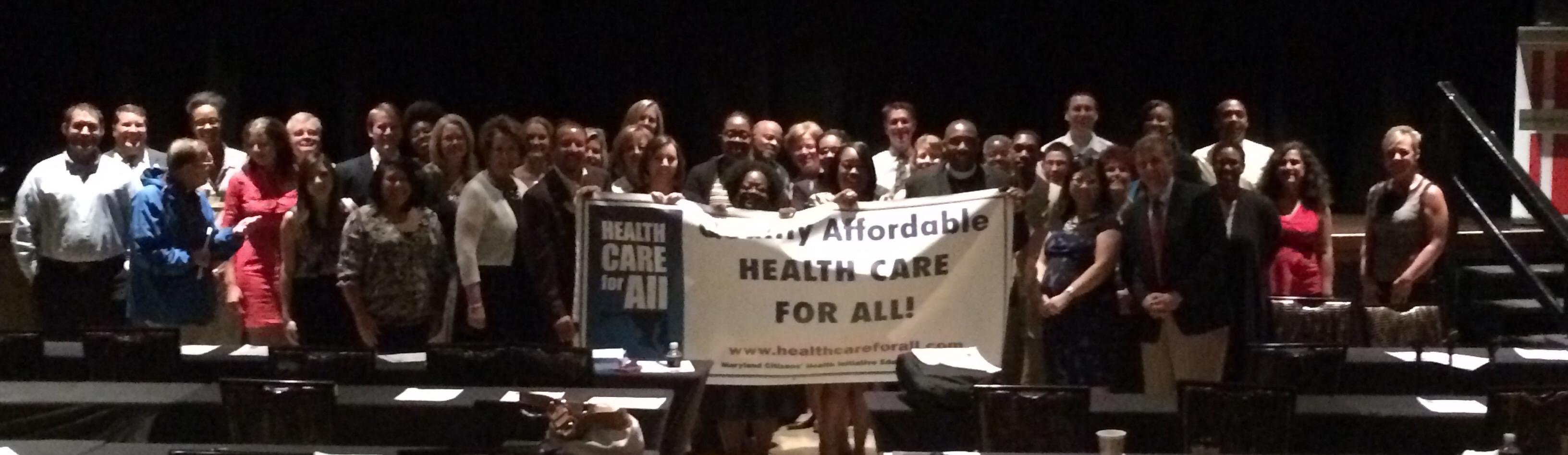 2015 Public Forums on Health System Changes— Maryland Health